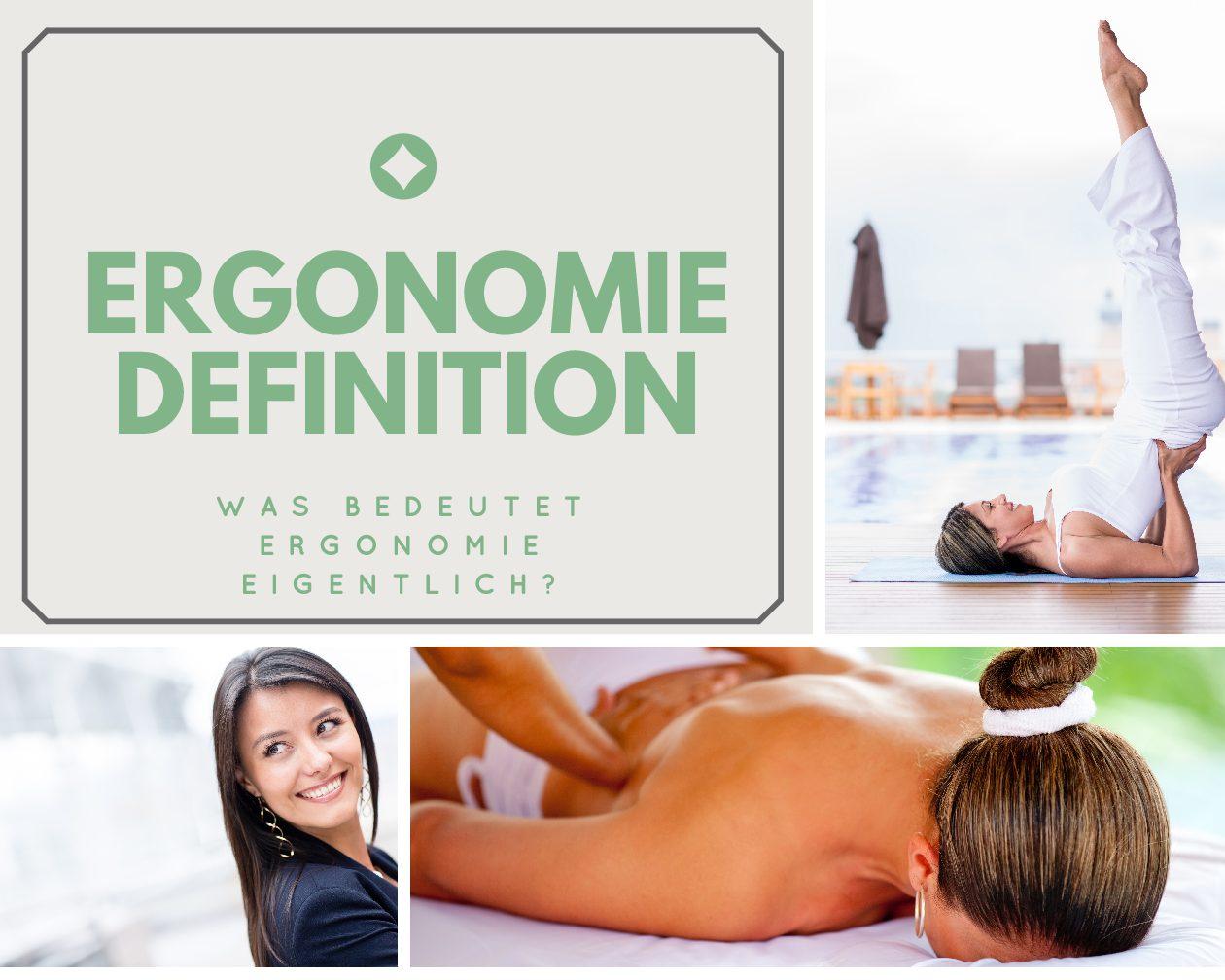 Ergonomie Definition – was bedeutet Ergonomie eigentlich?